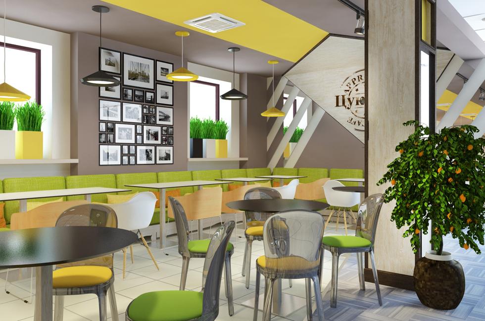 проект кафетерия в Москва