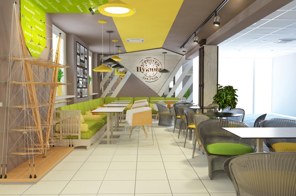 внешний вид кафетерия