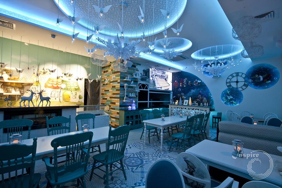фото необычного дизайна ресторана