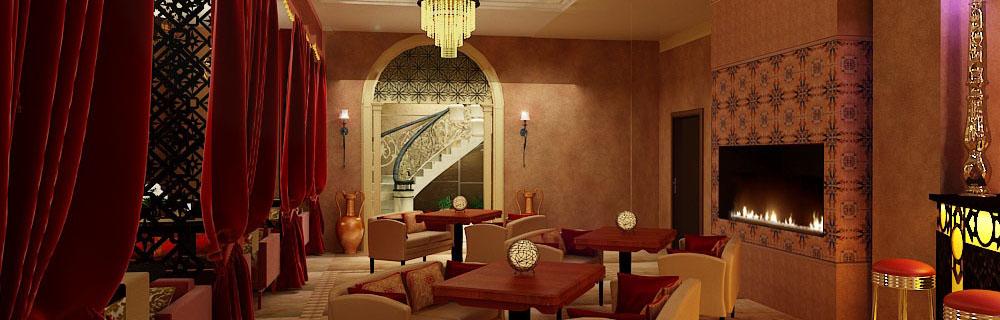 дизайн восточных ресторанов