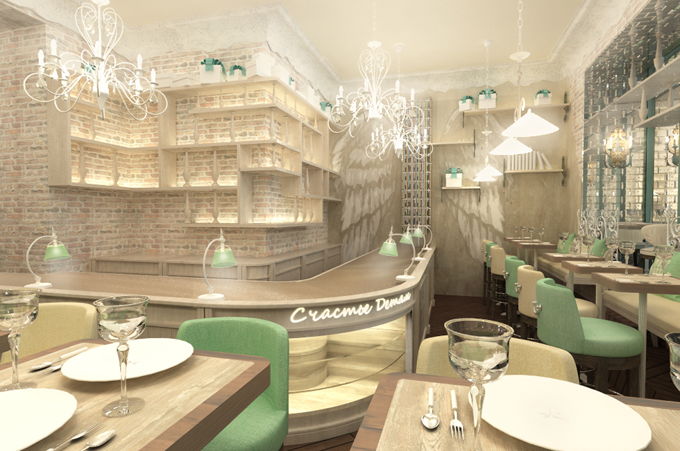 дизайн проект кулинарного ресторана