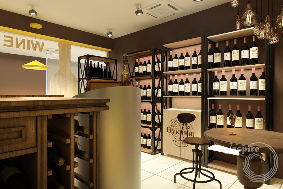 фото готового винного бутика