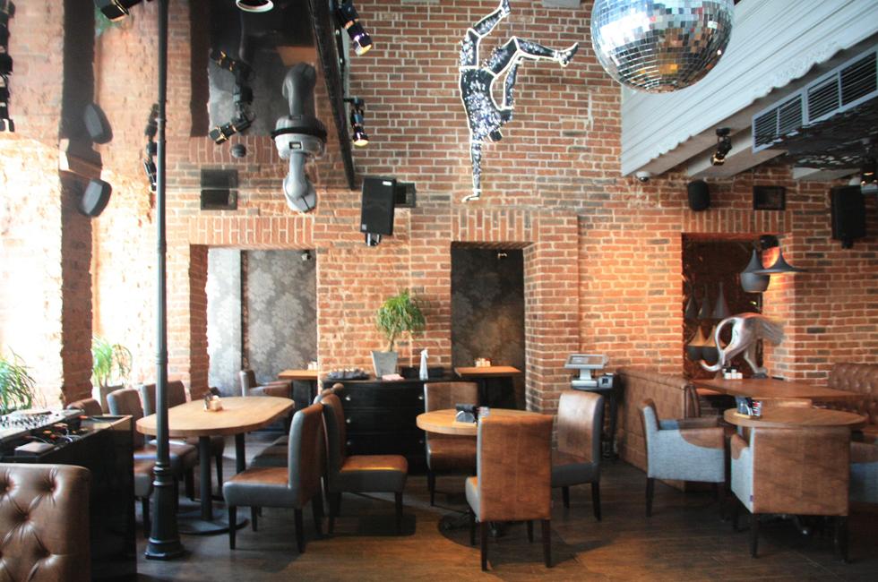 проект банкетного зала в ресторане Barselona