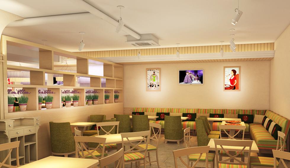суши-бар после дизайна