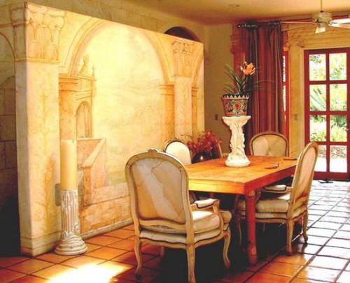 дизайн итальянского ресторана, дизайн ресторана в итальянском стиле