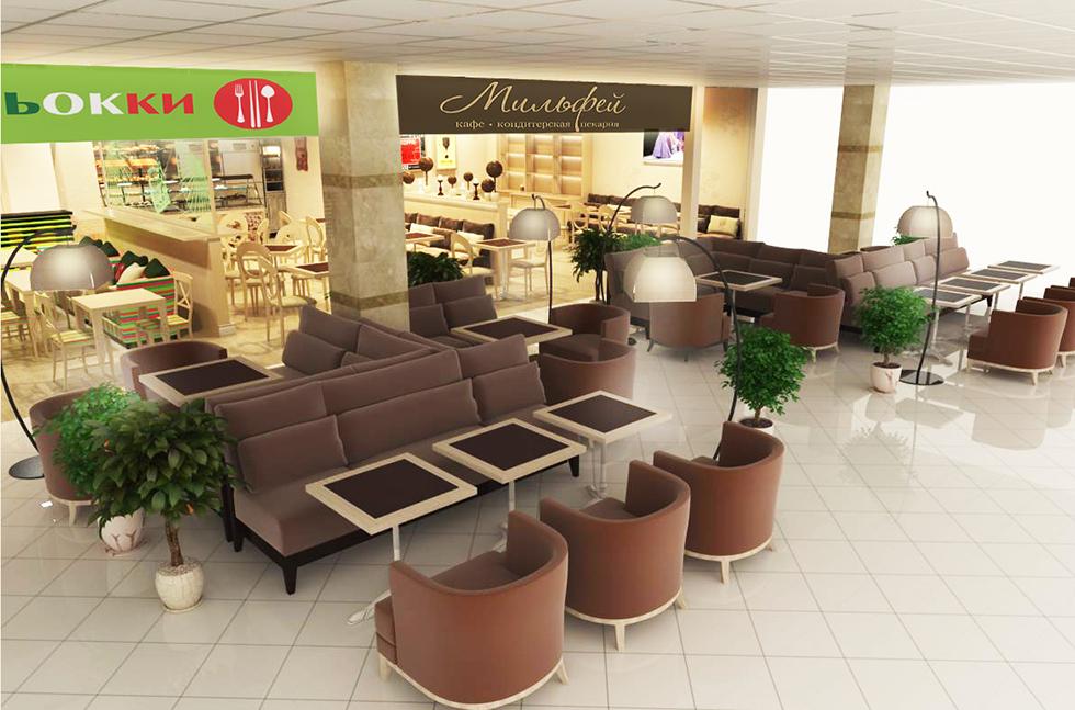 концепция магазина в торговм центре