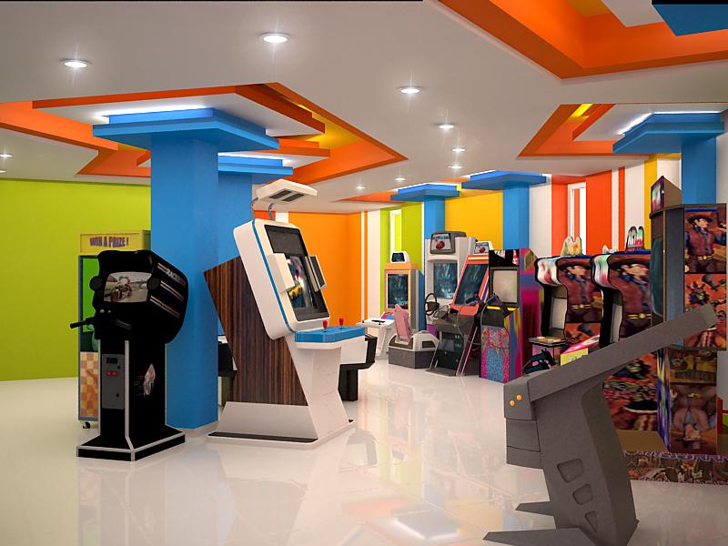 фото дизайн проекта развлекательного центра