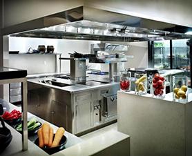 ремонт кухни в кафе