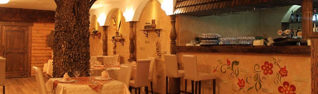 дизайн русского ресторана, дизайн ресторана в русском стиле