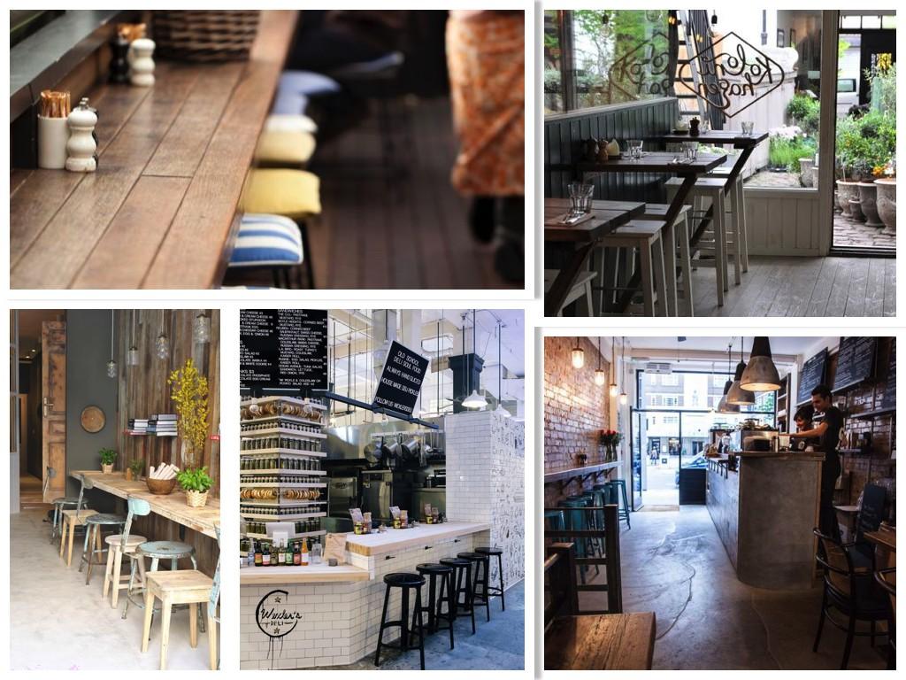 фото дизайна интерьера кафе