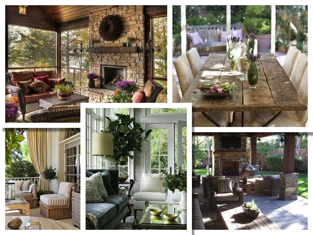 дизайн интерьера дома отдыха