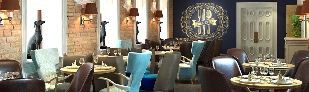 фото дизайн проекта ресторана
