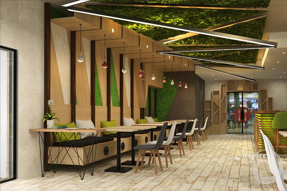 дизайн проект японского ресторана