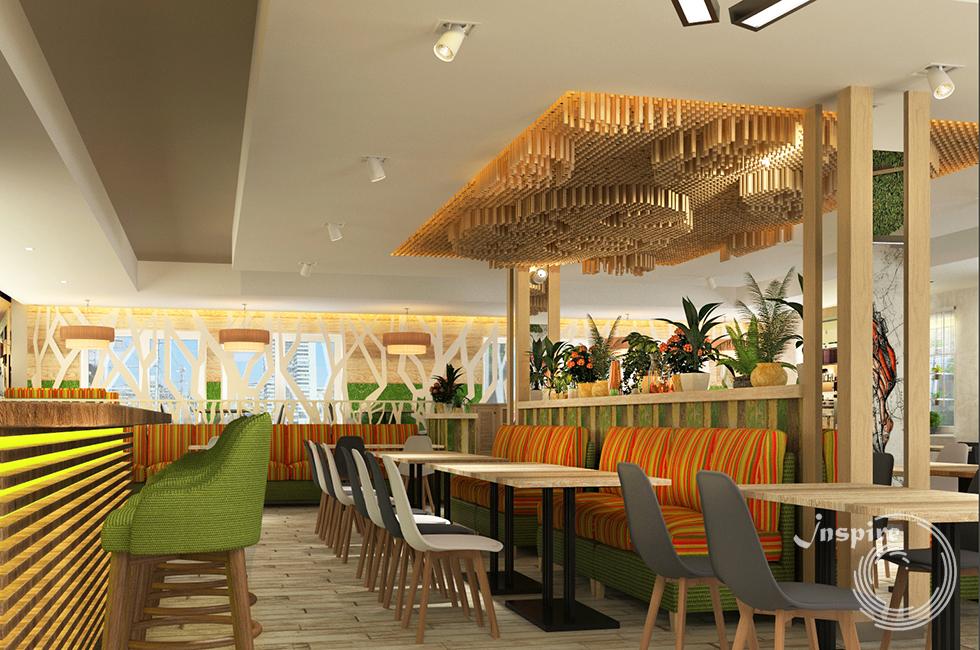 дизайн ресторана в японском стиле фото