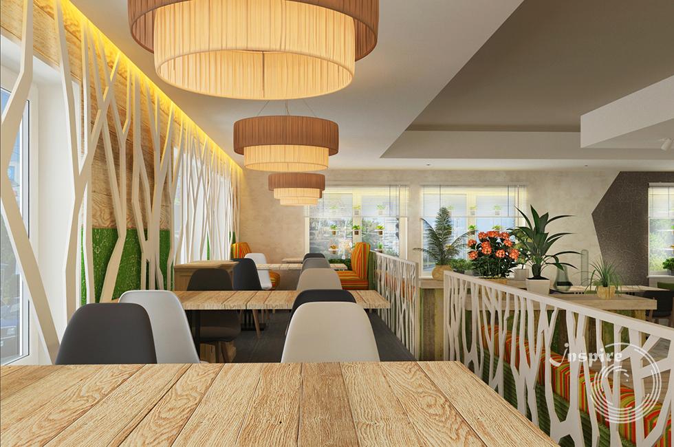 готовый дизайн проект японского ресторана