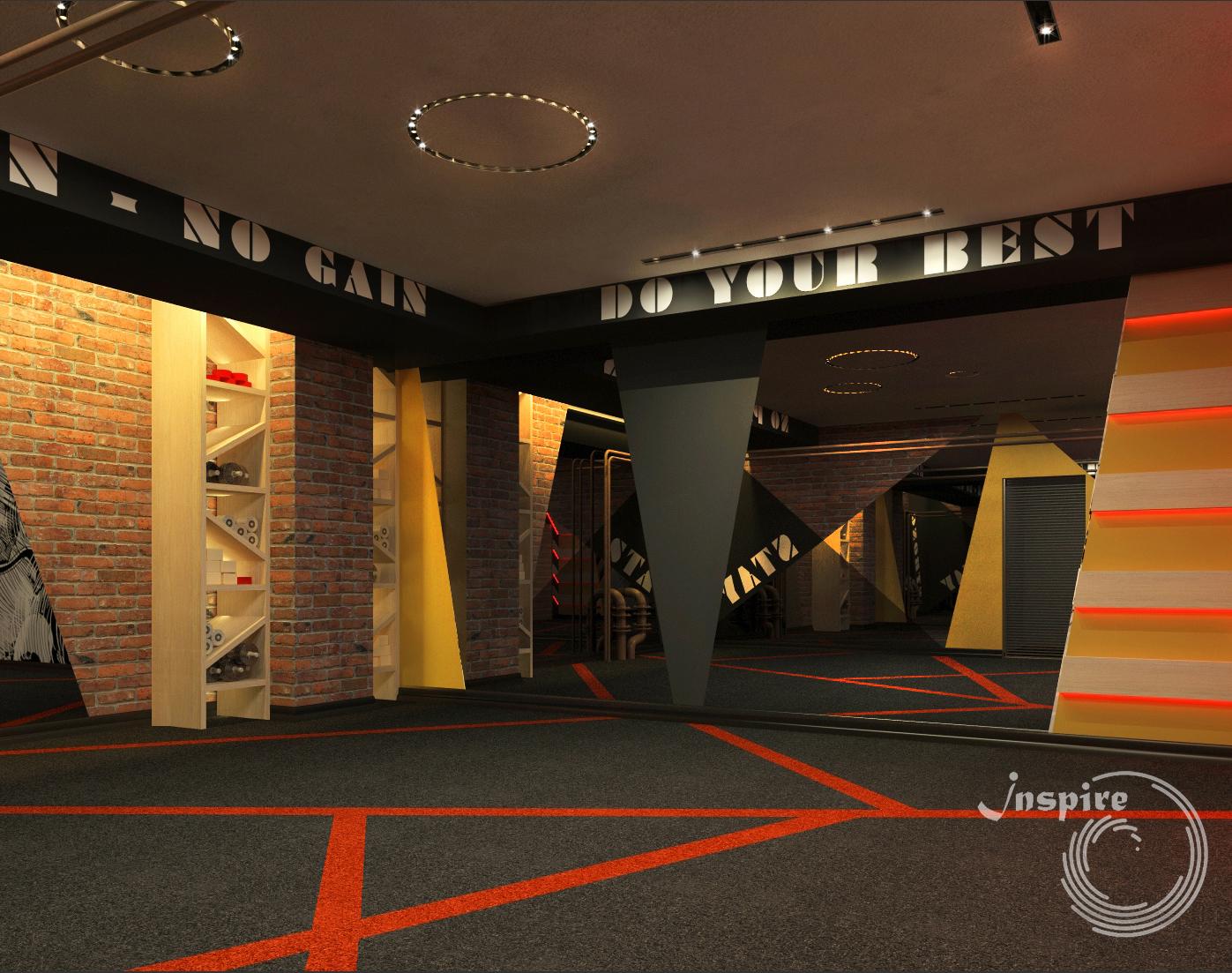 Тренажерный зал Вид4