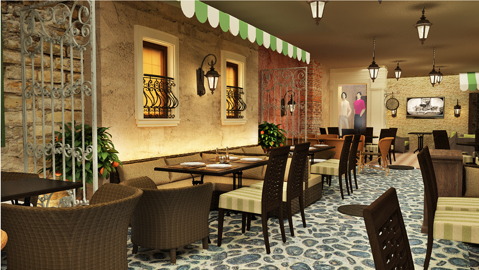 фото дизайна кафетерия
