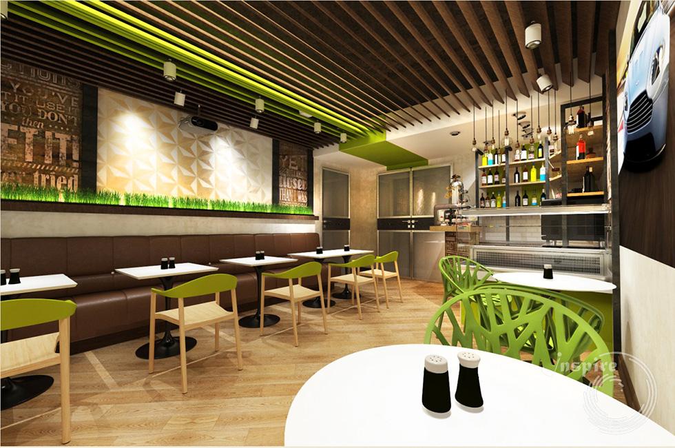 дизайн интерьера кафетерия