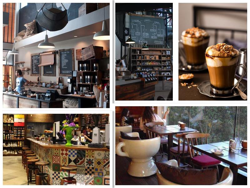 фото готового дизайна кофейни