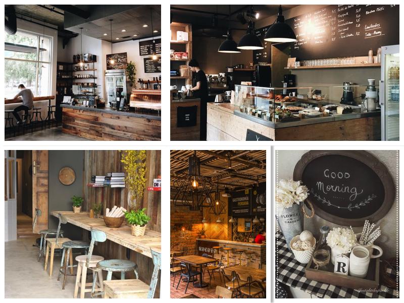 фото дизайна интерьера кофейни