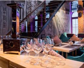 фото дизайн проекта элитного ресторана