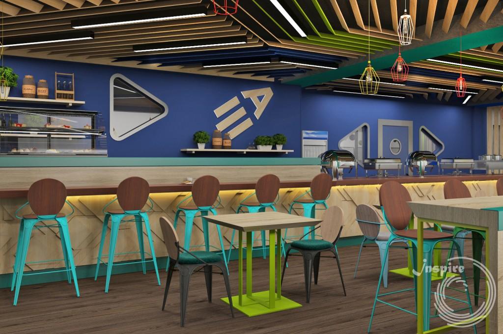 дизайн проект кафе для spa