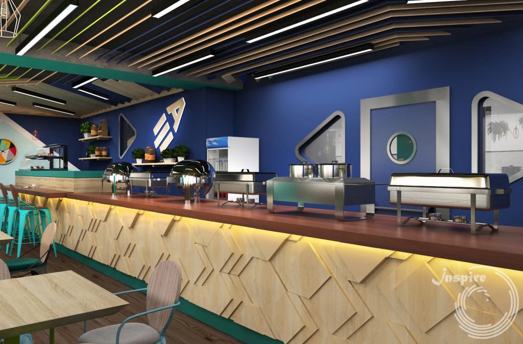 проект кафе под ключ в спа центре