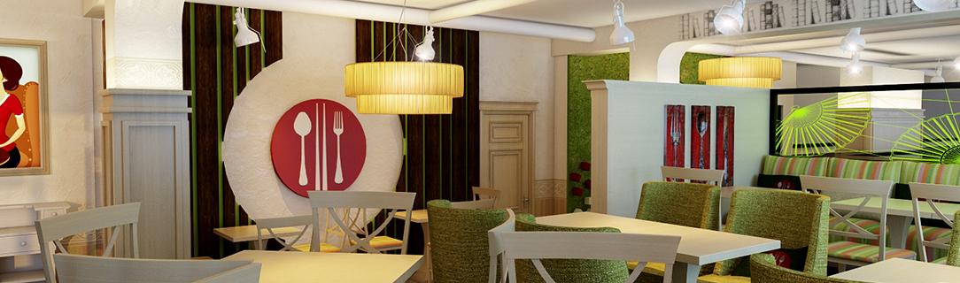 фото концепции дизайна кафе