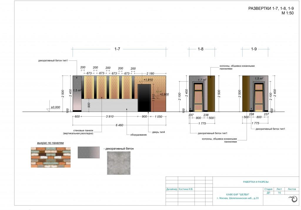фото проекта дизайна кафе