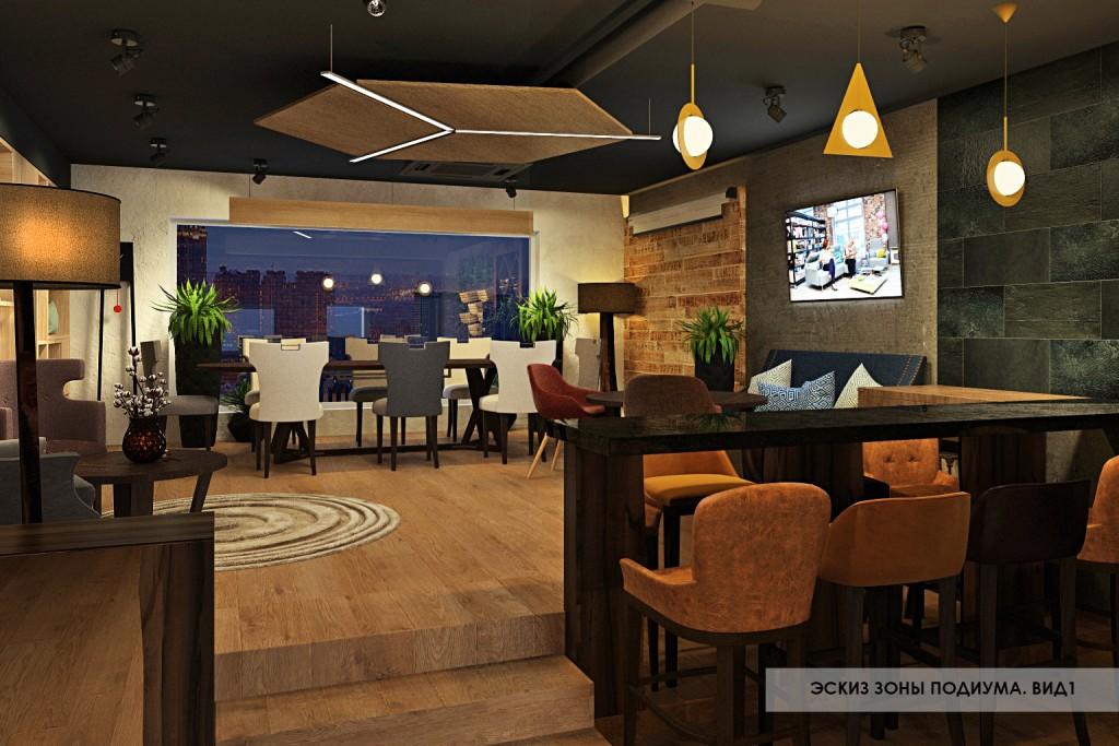 до и после создания дизайна мебельного магазина