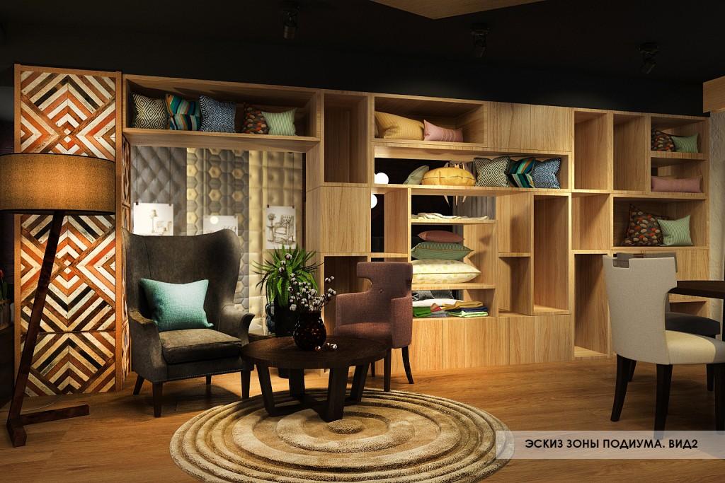 фото концепции мебельного лофта