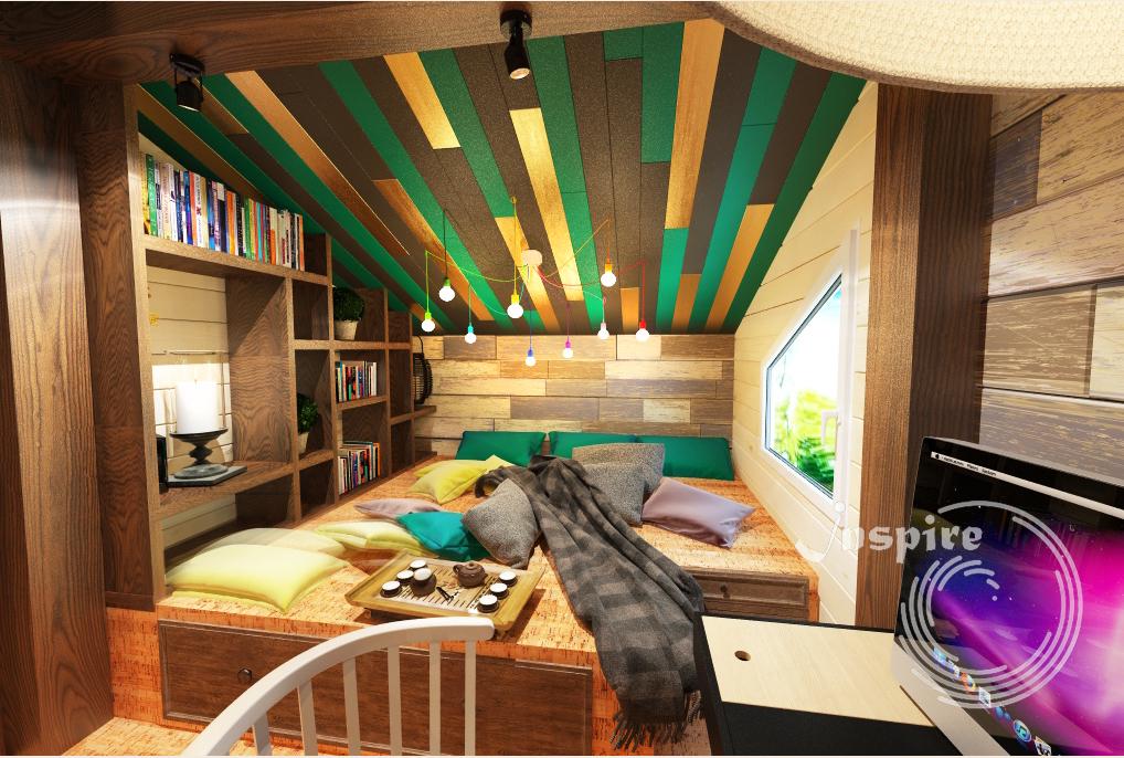 фото дизайн проекта загородного дома с планом