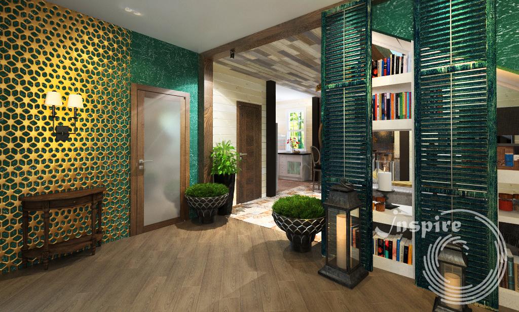 фото дизайна интерьера загородного дома