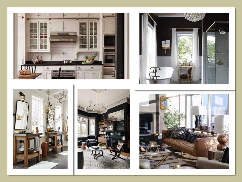 фото до и после дизайна загородного дома