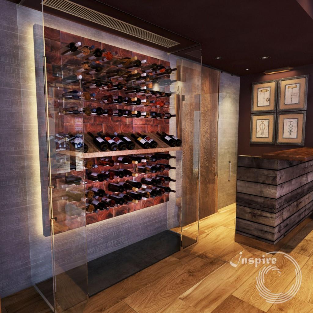 эскизы дизайна винного магазина