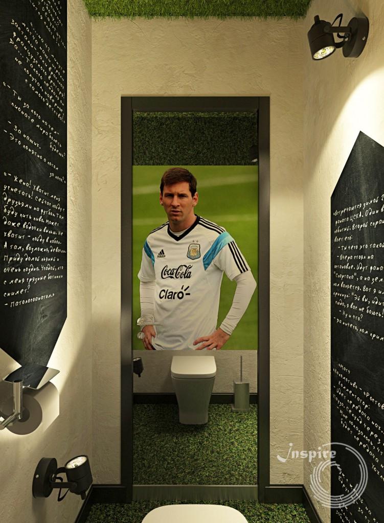 туалет в бара