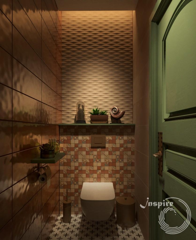 проект туалета винного ресторана