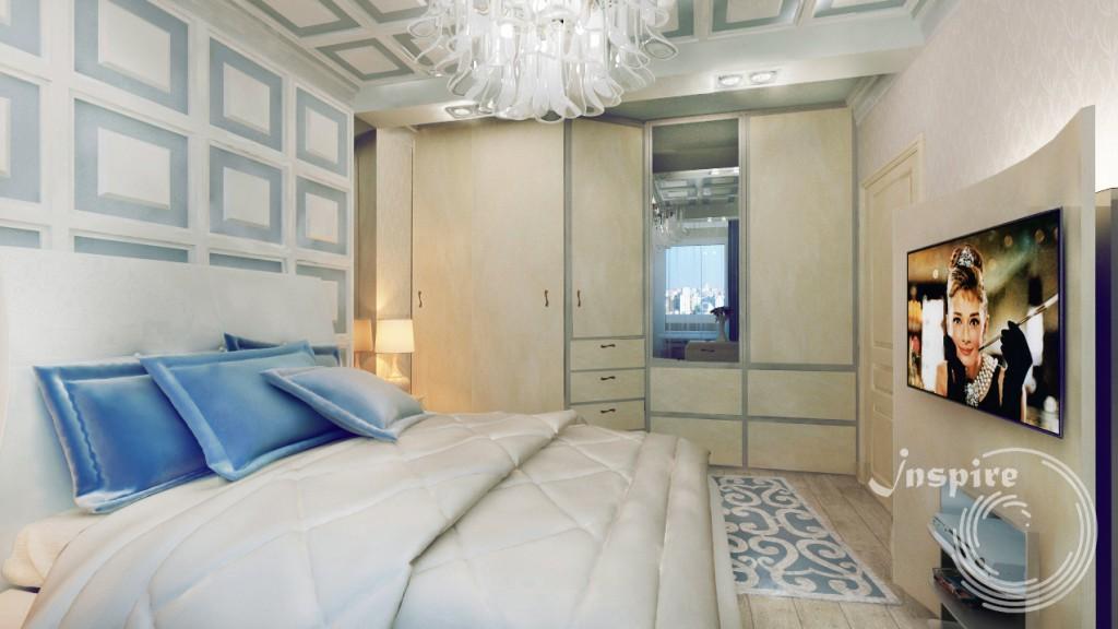 пример готового дизайна квартиры