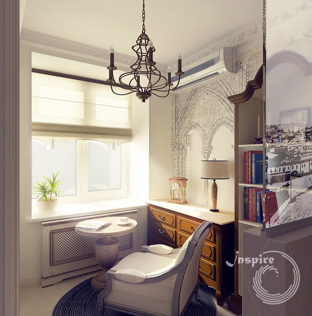 дизайн кухни четырехкомнатной квартиры