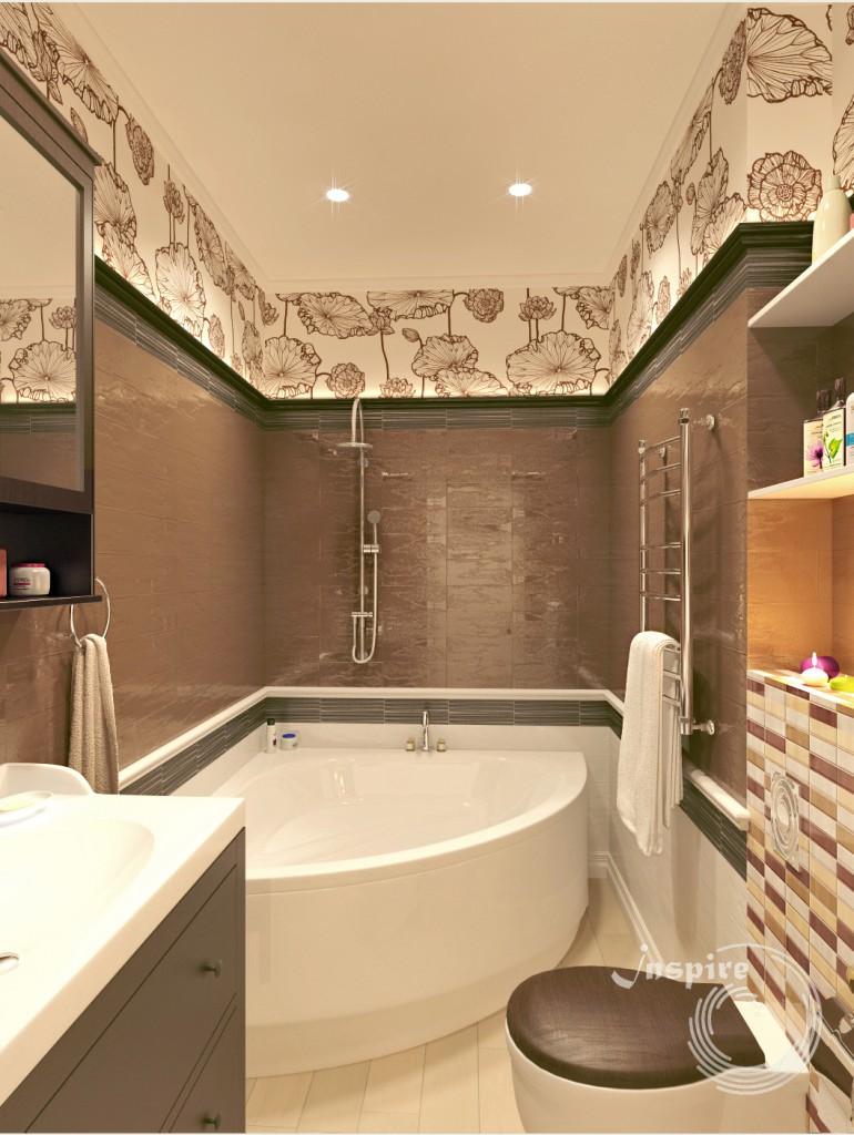 дизайн проект квартиры из 4х комнат
