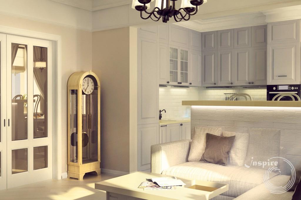 дизайн проект 4х комнатной квартиры