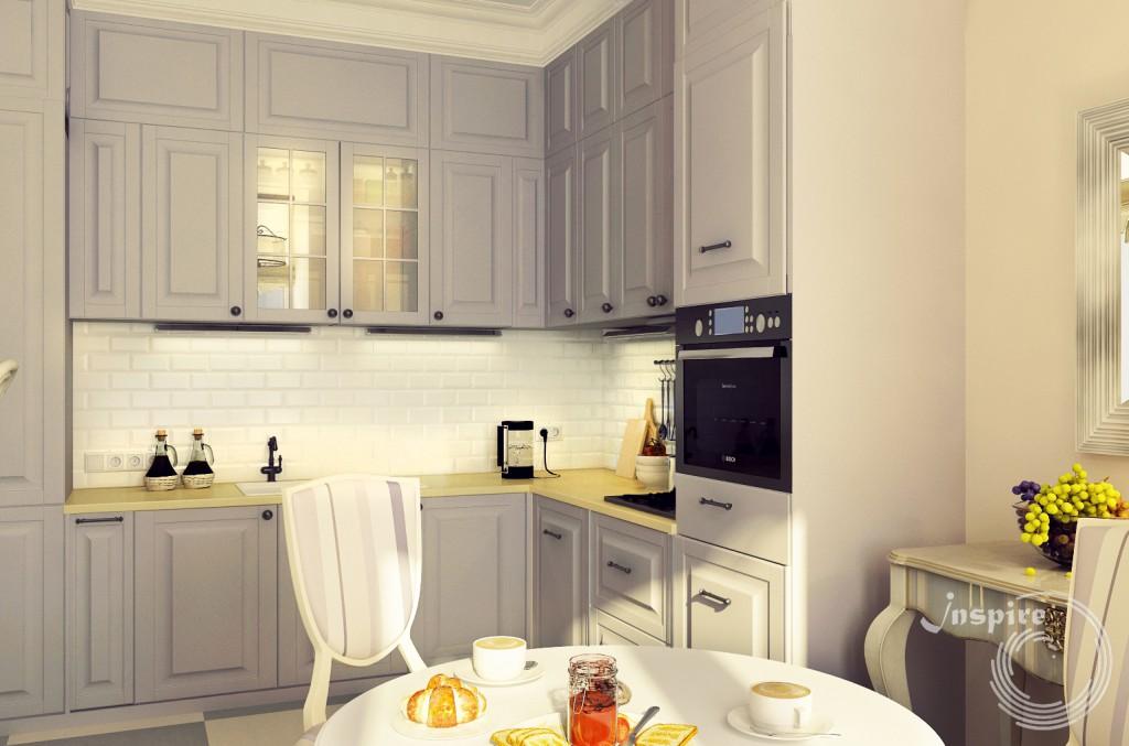 готовый дизайн четырехкомнатной квартиры