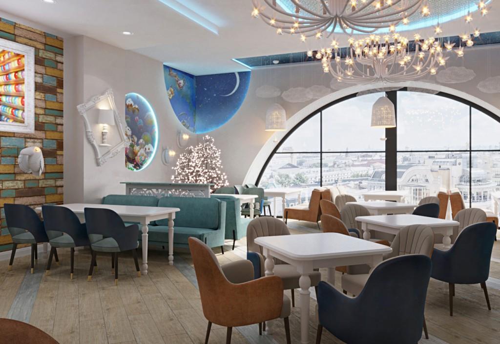 дизайн проект семейного кафе