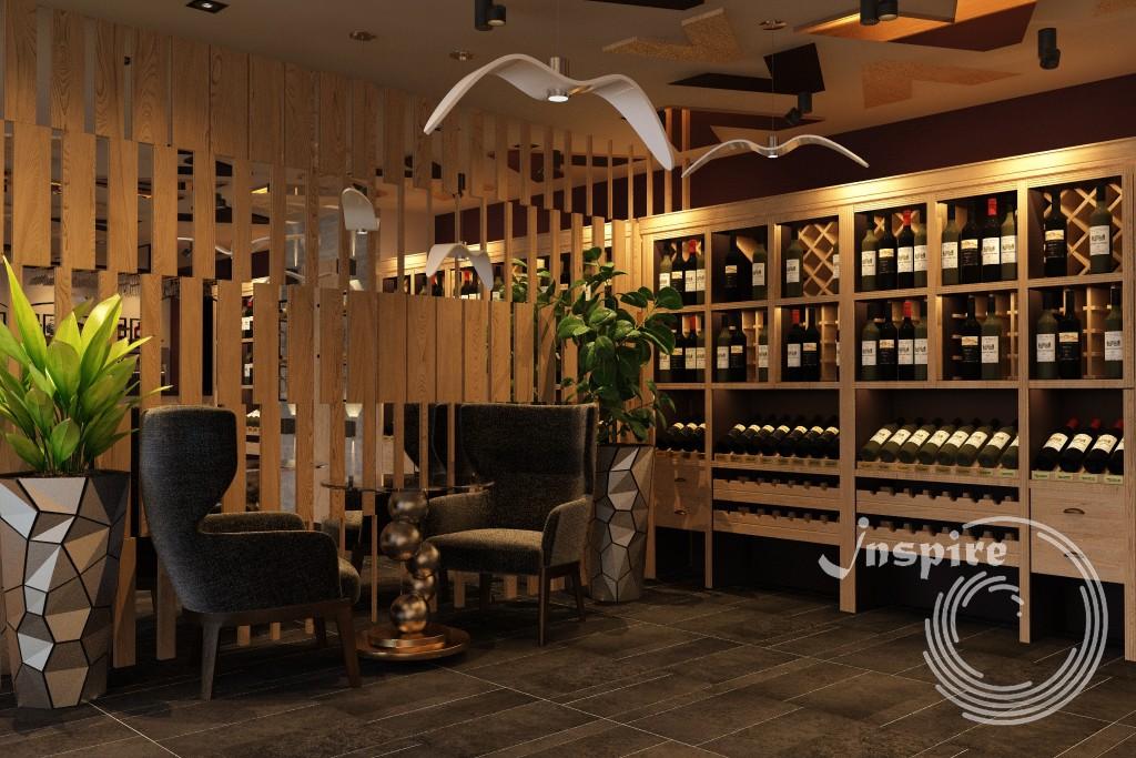 дизайн проект винного магазина