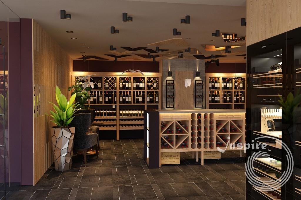 дизайн винного магазина под ключ