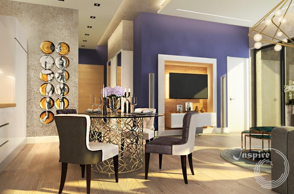 дизайн интерьера 5 комнатной квартиры под ключ