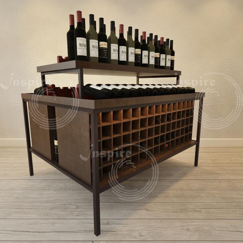 красивый винный шкаф