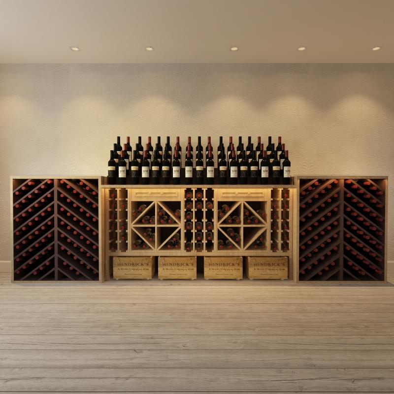 3д модель винного шкафа