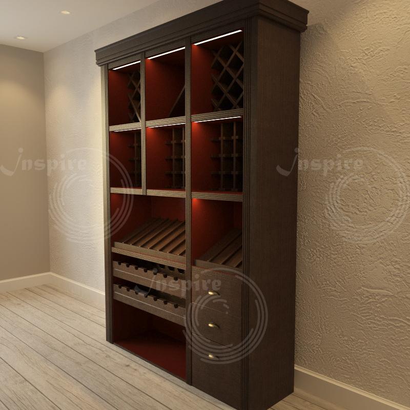 фото готового винного шкафа