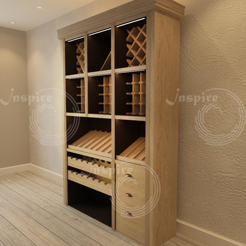 шкаф под хранение вина